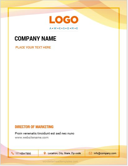 Business-letterhead-4-CRWC Official Letter Template Microsoft Word on free christmas, document recommendation,