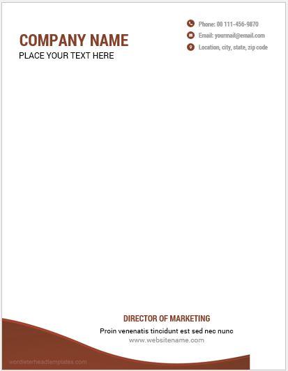 10 best letterhead templates word 2007 format microsoft word