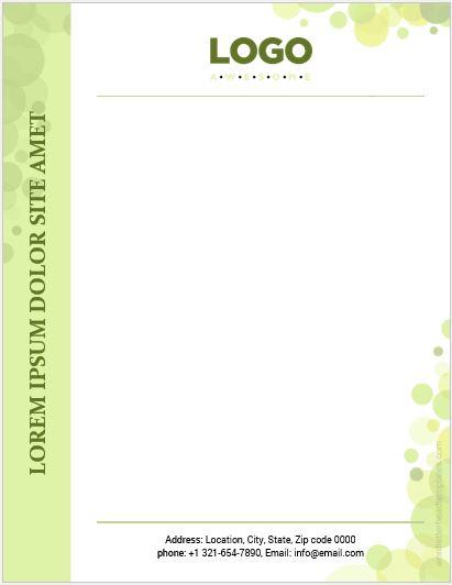 word letterhead template