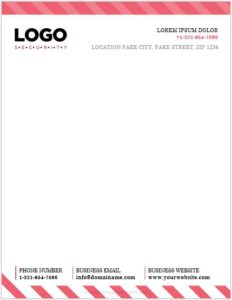 Word Letterhead Template