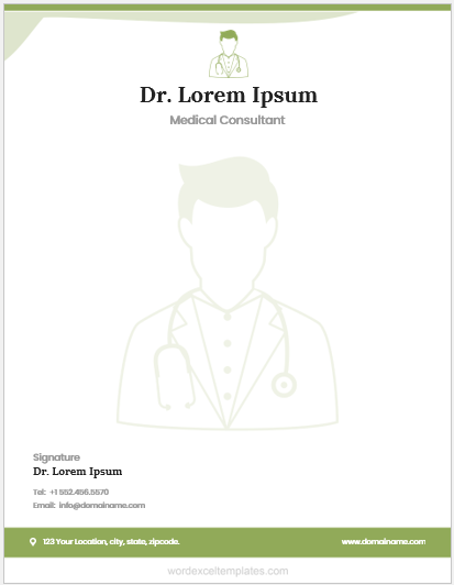 Doctor Letterhead Template